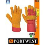 Portwest POLAR bélelt bőr védőkesztyű - munkakesztyű