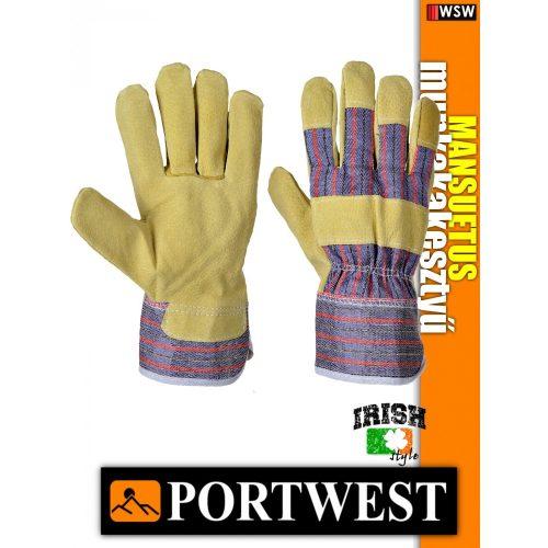 Portwest MANSUETUS bőr védőkesztyű - munkakesztyű
