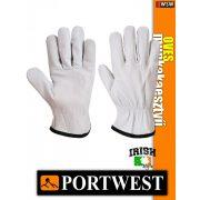 Portwest OVES bőr védőkesztyű - munkakesztyű