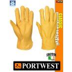 Portwest CLASSIC bőr bélelt védőkesztyű - munkakesztyű
