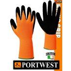 Portwest HI-VIS GRIP mártott védőkesztyű - munkakesztyű