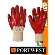 Portwest A401 PVC mártott védőkesztyű - munkakesztyű