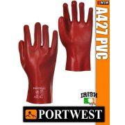 Portwest A427 PVC mártott védőkesztyű 27 cm - munkakesztyű