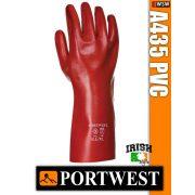 Portwest A435 PVC mártott védőkesztyű 35 cm - munkakesztyű