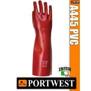 Portwest A445 PVC mártott védőkesztyű 45 cm - munkakesztyű
