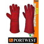 Portwest A500 hegesztő védőkesztyű - munkakesztyű