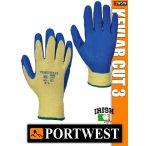 Portwest KEVLAR CUT 3 vágásbiztos védőkesztyű - munkakesztyű