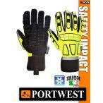 Portwest SAFETY IMPACT kombinált bélelt védőkesztyű - munkakesztyű