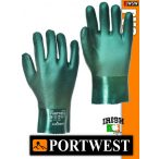 Portwest PVC vegyvédelmi védőkesztyű - munkakesztyű