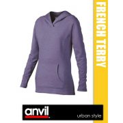 Anvil French Terry Hooded női kardigán