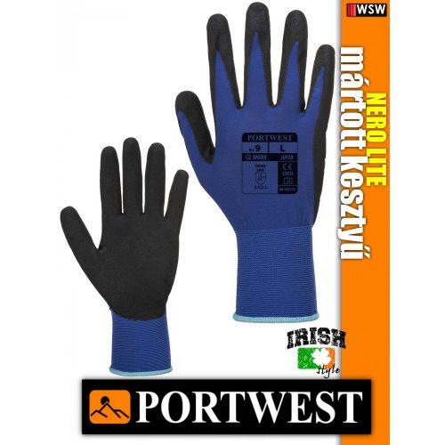 Portwest NERO LITE mártott védőkesztyű - munkakesztyű