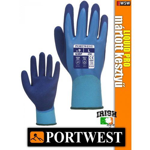 Portwest LIQUID PRO vízálló mártott védőkesztyű - munkakesztyű