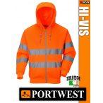 Portwest HI-VIS jól láthatósági kapucnis pulóver - munkaruha