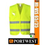 Portwest HI-VIS 65/35 jólláthatósági hálós mellény - munkaruha