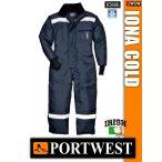 Portwest IONA NAVY COLD STORE bélelt overál -40C-ig
