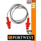 Portwest PW SAFETY TPE zsinóros füldugó - 23 dB