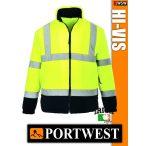 Portwest HI-VIS jól láthatósági polár pulóver - munkaruha