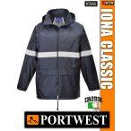 Portwest IONA NAVY CLASSIC prémium esőkabát - munkaruha