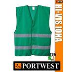 Portwest IONA GREEN jólláthatósági mellény - munkaruha