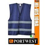 Portwest IONA NAVY jólláthatósági mellény - munkaruha