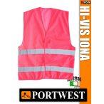 Portwest IONA PINK jólláthatósági mellény - munkaruha