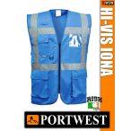 Portwest IONA ROYAL jólláthatósági vezetői mellény - munkaruha