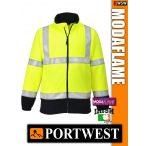 Portwest MODAFLAME Hi-Vis lángálló antisztatikus polár - munkaruha
