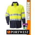 Portwest MODAFLAME Hi-Vis lángálló antisztatikus póló - munkaruha