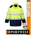Portwest BIZFLAME Multi Arc antisztatikus lángálló kabát - munkaruha