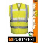 Portwest HI-VIS foszforeszkáló jólláthatósági mellény - munkaruha