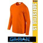 Gildan Softstyle hosszúujjú férfi póló