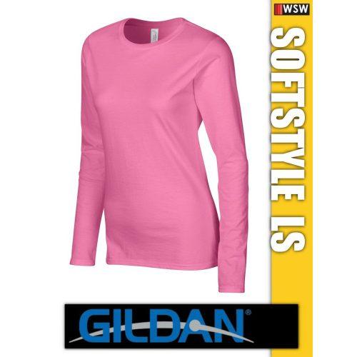 Gildan Softstyle hosszúujjú női póló