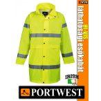 Portwest HI-VIS CLASSIC 100 cm jólláthatósági esőkabát - munkaruha
