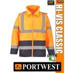 Portwest HI-VIS CLASSIC  jólláthatósági esőkabát - munkaruha