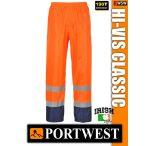 Portwest HI-VIS CLASSIC jólláthatósági esőnadrág - munkaruha
