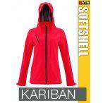 Kariban Softshell Hooded kapucnis női kabát - polár belső