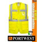 Portwest HI-VIS LED jólláthatósági vezetői mellény - munkaruha