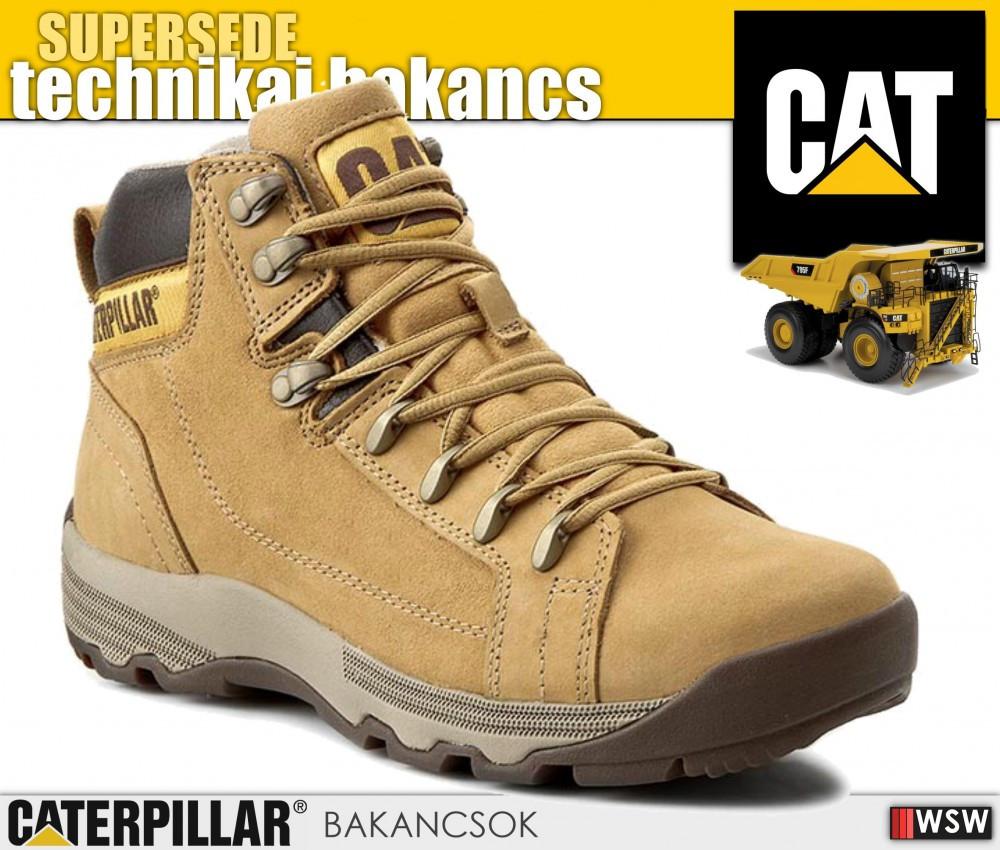 55c5af3ce7 Caterpillar CAT SUPERSEDE férfi technikai bakancs - munkacipő .