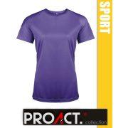 Proact Short Sleeve lélegző női sport póló