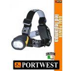 Portwest DUAL POWER led fejlámpa 100 lumen - munkaruha