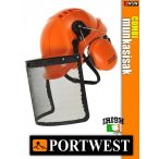 Portwest COMBI erdészeti munkavédelmi sisak szett - védősisak