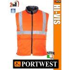 Portwest HI-VIS jólláthatósági bélelt 2in1 mellény - munkaruha