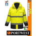 Portwest HI-VIS 3in1 jólláthatósági télikabát - munkaruha