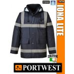 Portwest IONA NAVY LITE bélelt télikabát - munkaruha