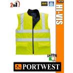 Portwest HI-VIS jólláthatósági bélelt mellény - 2in1