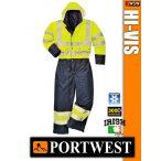 Portwest HI-VIS jólláthatósági bélelt overál kezeslábas - munkaruha