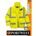 Portwest EXTREME HI-VIS jólláthatósági esőkabát - munkaruha