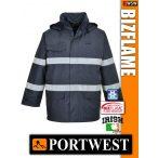 Portwest BIZFLAME Multi antisztatikus lángálló bélelt kabát - munkaruha