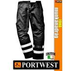 Portwest IONA BLACK derekas munkanadrág - munkaruha