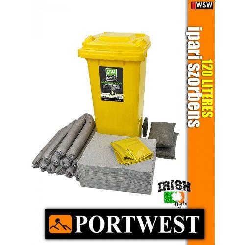 Portwest SM33 ipari szorbens készlet 120 liter - ipari szorbens